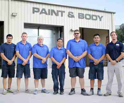 Buses Paint & Body Shop Services