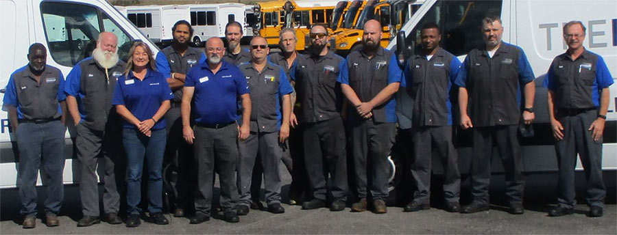 Certified Service Centers for Buses: Repair & Maintenance
